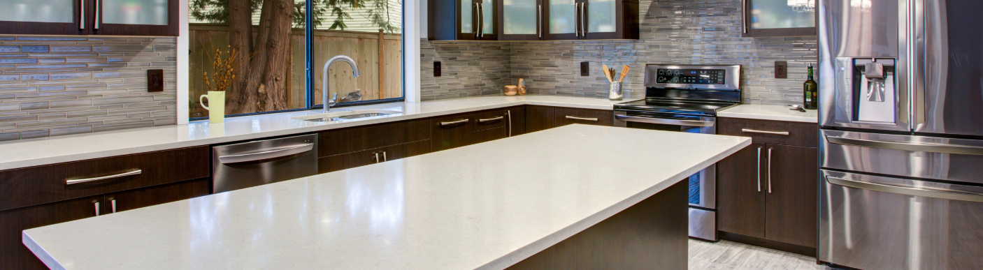 Home remodel with granite countertops from InteriorWorx Countertops