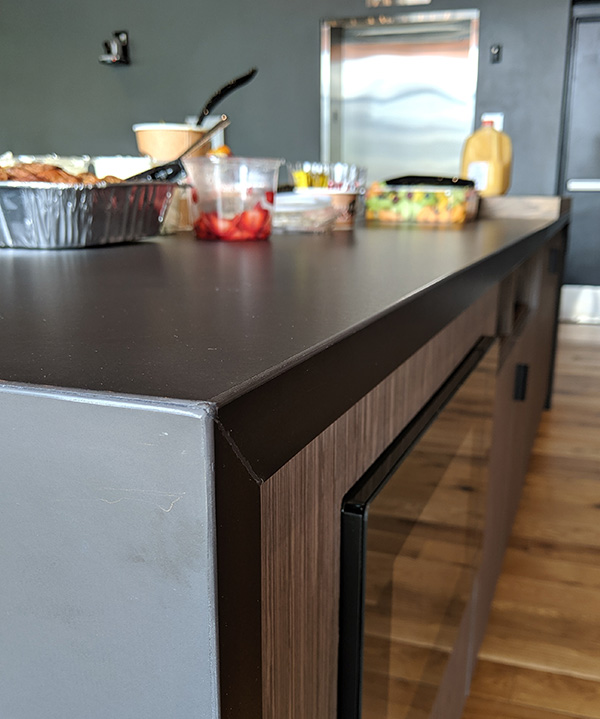 Common Grounds kitchen counter remodel