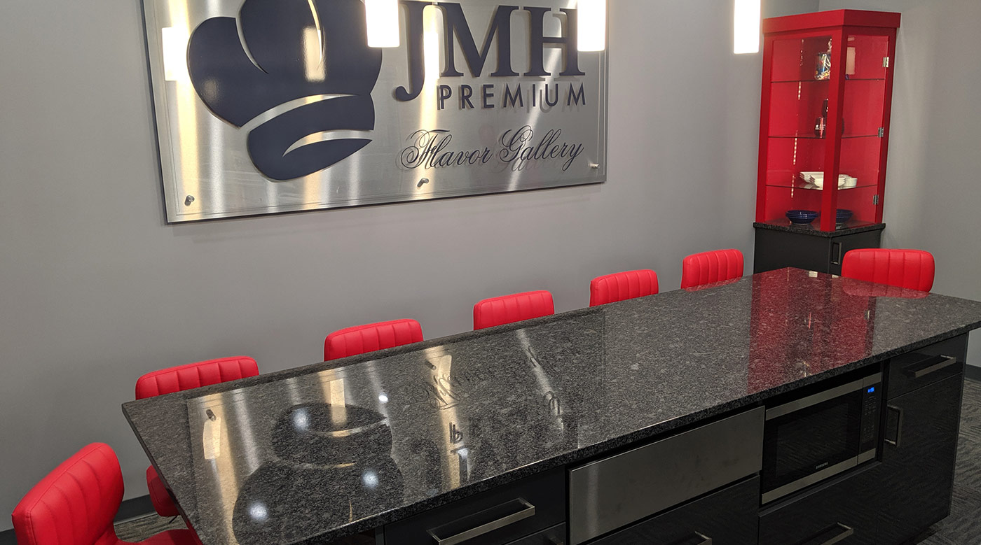 JMR Premium Kitchen conference room installed by InteriorWorx Countertops